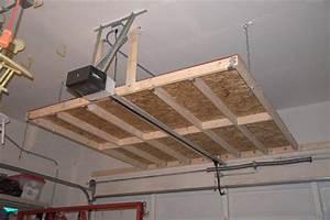 Build Your Own Garage Ceiling Storage Best Storage