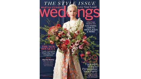 brand  fall issue martha stewart weddings