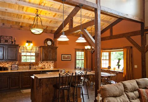 kansas barn home traditional kitchen  metro
