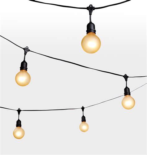 24 G25 Bulb Gold Painted String Lights Rejuvenation