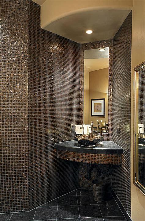 black  gold bathroom tiles ideas  pictures