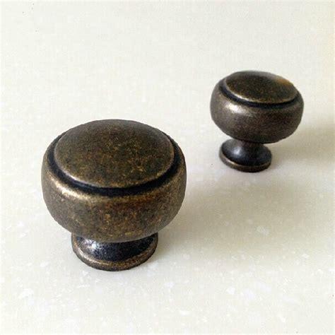 antique brass cabinet knobs 30mm vintage distress furniture knobs antique brass drawer
