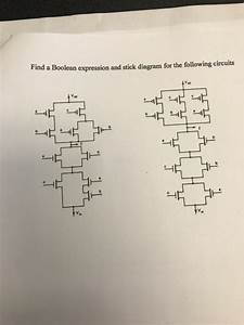 Solved  Find A Boolean Expression And Stick Diagram For Th