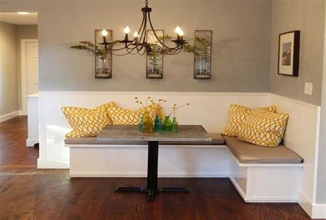 Dining Room Banquette, Banquettes And Magnolia Homes On