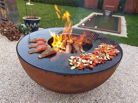 Feuerschale Mit Grill feuerschale grill feuerstelle feuerschale