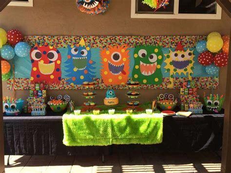 monster birthday parties ideas  pinterest