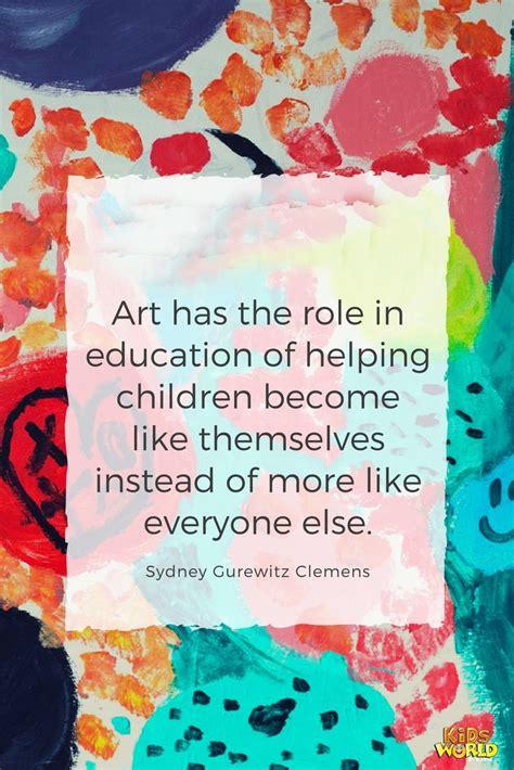 art   role  education  helping children