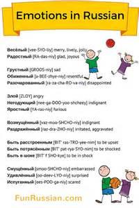 Basic Language Russian Words