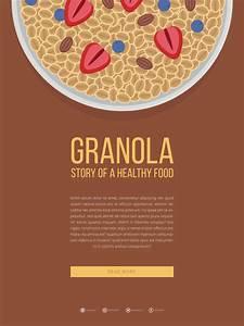 Granola Mobile Advertising Template
