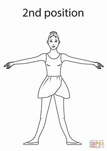 Coloring Pages Ballet Stretching Coloring Pages