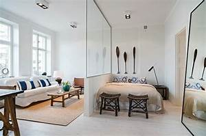 Bett Im Wohnzimmer : bett im wohnzimmer raumteiler prinsenvanderaa ~ Lizthompson.info Haus und Dekorationen