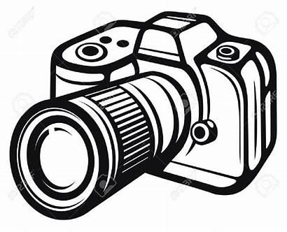 Camera Clip Aesthetic Digital Vector Vlogging Silhouette