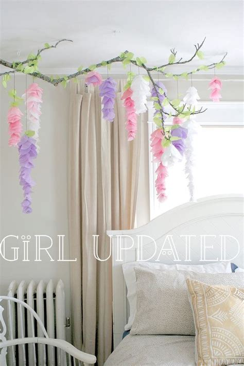hanging paper wisteria tutorial templates paper