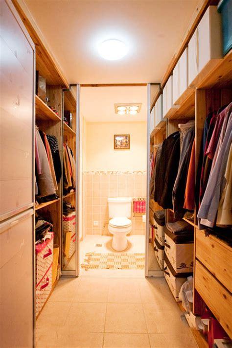 master bedroom walk in closet and bathroom