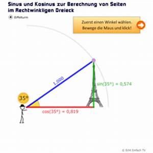 Sinus Cosinus Berechnen : lektion tri02 sinus und kosinus matheretter ~ Themetempest.com Abrechnung