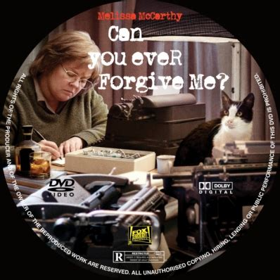 Can You Ever Forgive Me?  Dvd Covers & Labels By Covercity