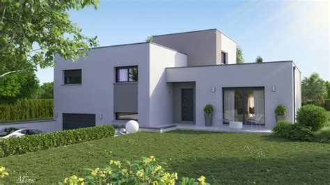Maison Demi Soussol 4 Chambres  Construction Maison