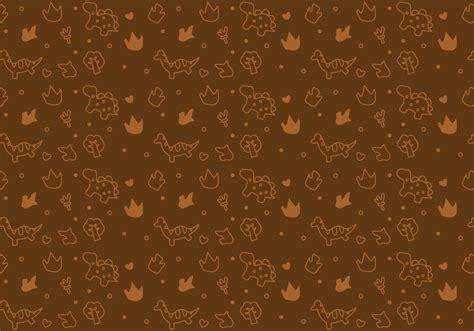 dinosaur pattern    vector art stock