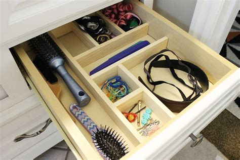 Bathroom Cabinet Drawer Organizers Diy Drawer Organizer