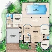 dream house plans Dream house plan...pool included from coolhouseplans.com ...