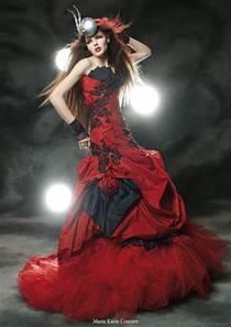 Wedding By Designs: Red wedding dress