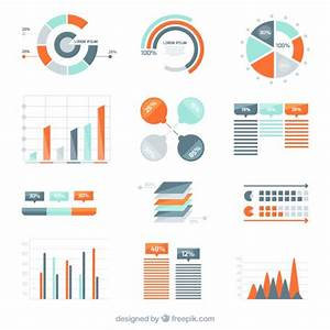Variety Of Infographic Diagrams Vector