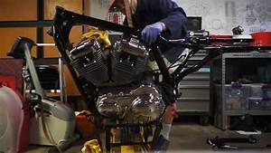 Harley Sportster Engine Removal
