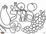 Coloring Pages Challah Jewish Crumbs Shabbos Salad Hebrew Fruit Books Torah Sheets Tots Printable Crafts Fun Purple Getcolorings Alphabet Children sketch template