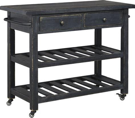 kitchen islands and carts furniture marlijo black kitchen cart from coleman furniture 8285