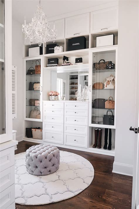 Master Closet by Southern Curls Pearls Master Closet Reveal