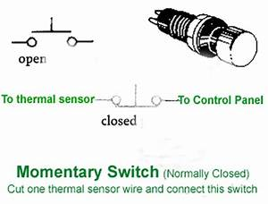 Spst Momentary Switch Wiring Diagram