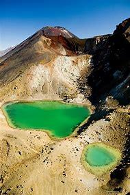 New Zealand Tongariro Alpine Crossing