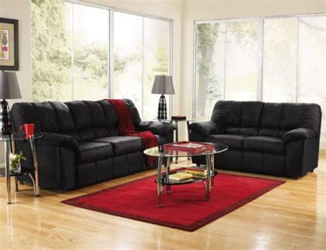 Black Leather Living Room Ideas by The Use Of Black Furniture In Decorating Your Living Room