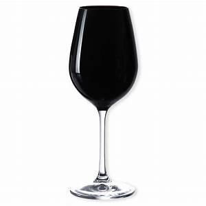 Verre A Vin Noir : verre vin noir verrerie chic et tendance 35cl bruno evrard ~ Teatrodelosmanantiales.com Idées de Décoration