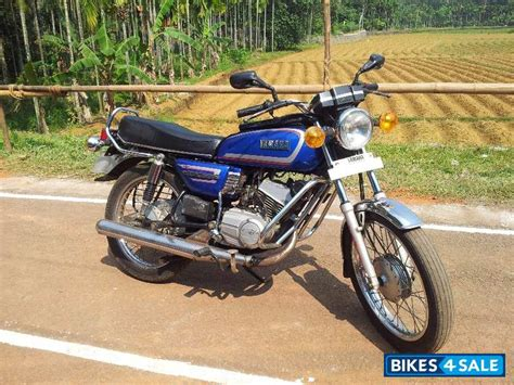 second yamaha rx 135 in bangalore excellent condition 5 speed gearbox blue colour
