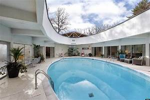 Highland park retractable roof home is nearly 14 million for Indoor pool with retractable roof