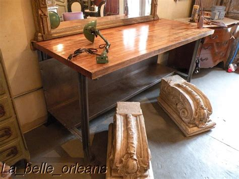 kitchen island tables for sale industrial vintage butcher block table kitchen island for sale antiques com classifieds