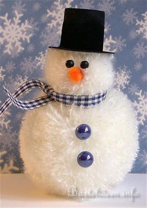 basteln mit kindern zu weihnachten und im winter frosty