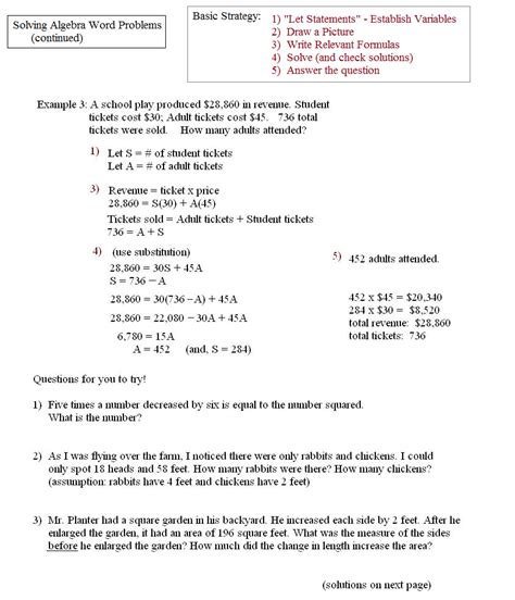 Resume Another Word For Problem Solving by Uncategorized Writing Equations From Word Problems Worksheet Klimttreeoflife Resume Site