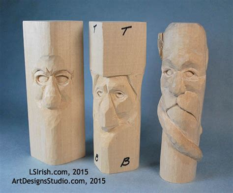 wood spirit carving  carving  eyes