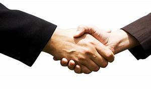 Two People Shaking Hands Clipart - Clipart Suggest