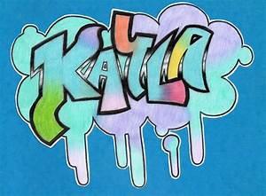 Graffiti: Kayla by Pokemon-Chick-1 on DeviantArt