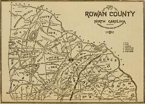 Townships in Rowan County, North Carolina
