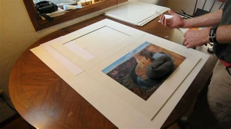 how to mat a print in an archival conservation safe