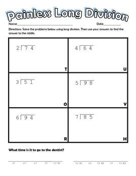 division riddle worksheets division riddle worksheets division puzzle worksheets printable math puzzles 5th