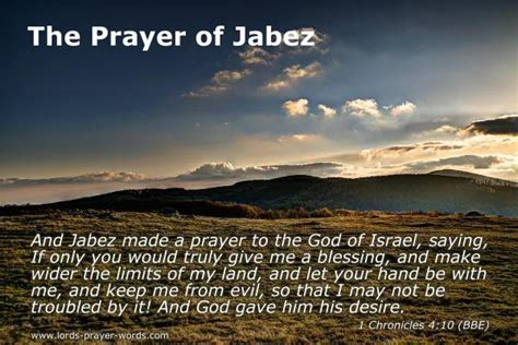 prayer  jabez  bible study