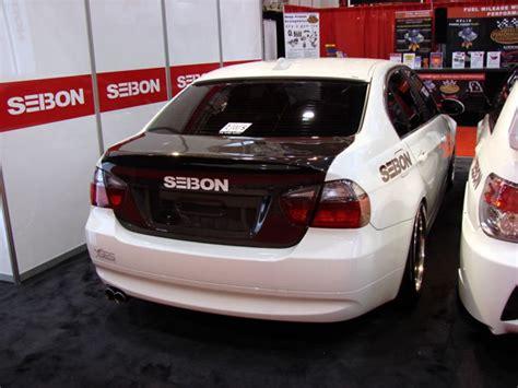 csl style carbon fiber trunk lid    bmw