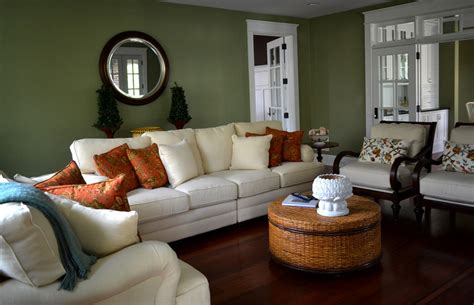 Green Living Room Next by Gorgeous Bassett Mirror In Living Room Mediterranean With