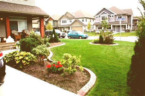 Backyard Of House by Simple Front Yard Landscaping Ideas Townhouse Patio On A