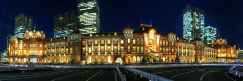 panorama  tokyo station